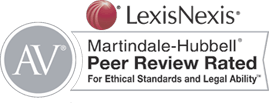 Lexis Nexis | Martindale hubbell | Peer Review rated | For Ethical Standards and Legal Ability
